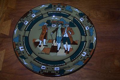 Buffalo Pottery Deldare Ware Plate Ye Olden Times