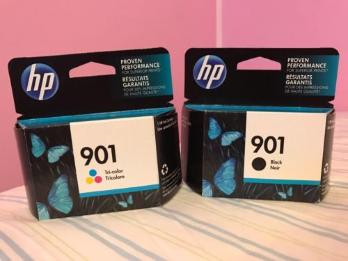 HP 901 Black & Tri-color 2-Pack Ink Cartridges