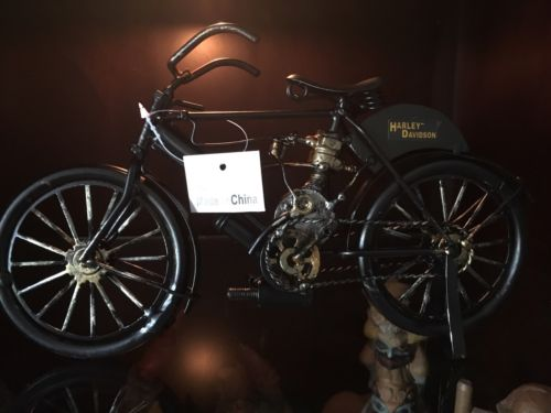 Collectible Harley Davidson 1903 Motor Bike Replica