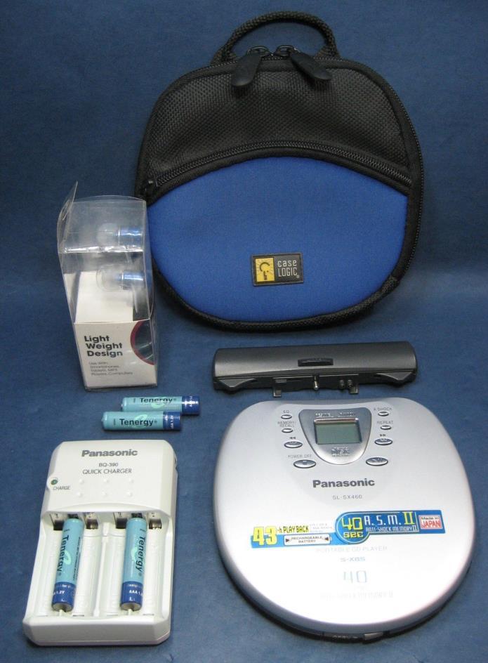 Panasonic SL-SX460 Protable CD Player