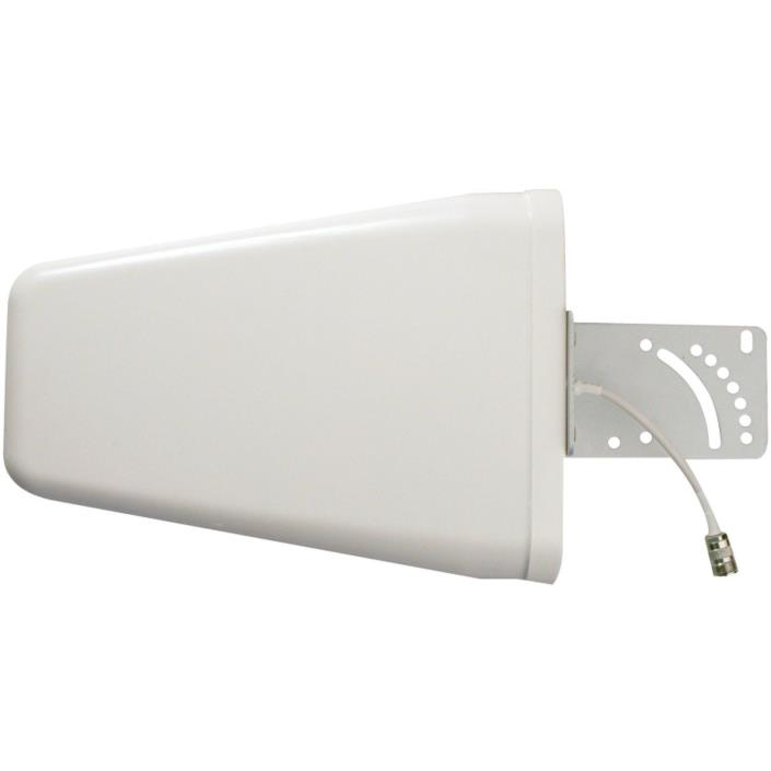 weBoost 700-2700 MHz Wide Band Directional Antenna w/ N Female Connector - White
