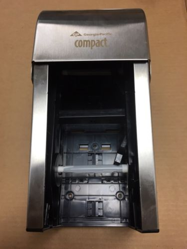 Georgia-Pacific Compact Vertical Tissue Dispenser - GPC56782 Brushed Stainless