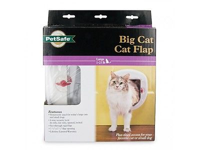 PetSafe PPA00-11326 Locking Big Cat Door, 4-Way