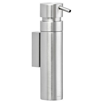 Blomus Nexio Wall Mounted Soap Dispenser, Matte Stainless Steel