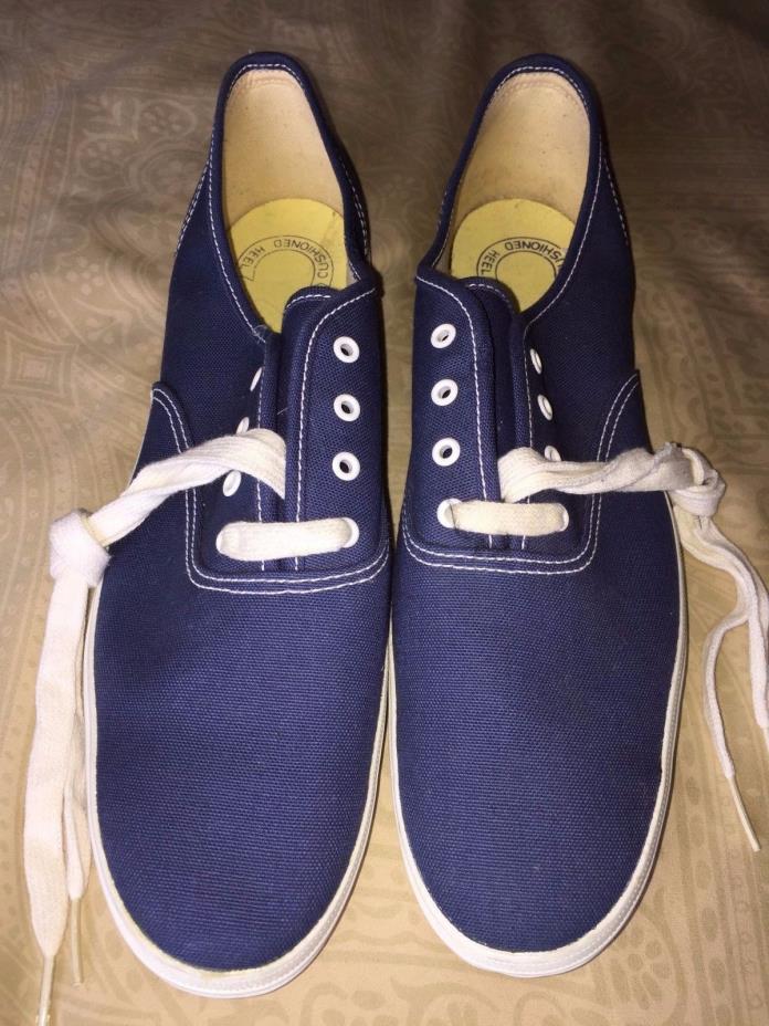 mens New 12 S vintage Keds Champion blue canvas tennis shoes sneakers Korea