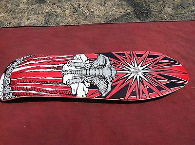 Mike Vallely World Industries Street Plant SIGNED skateboard deck