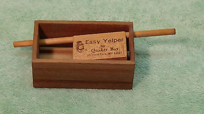 TURKEY CALL QUAKER BOY EASY YELPER PUSH PIN CALL