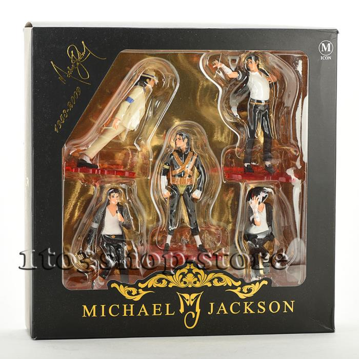 Set of 5 pcs Michael Jackson Memorabilia 5