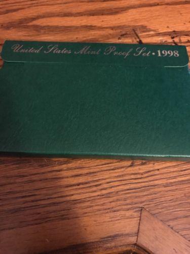 1998 US Mint Proof Set