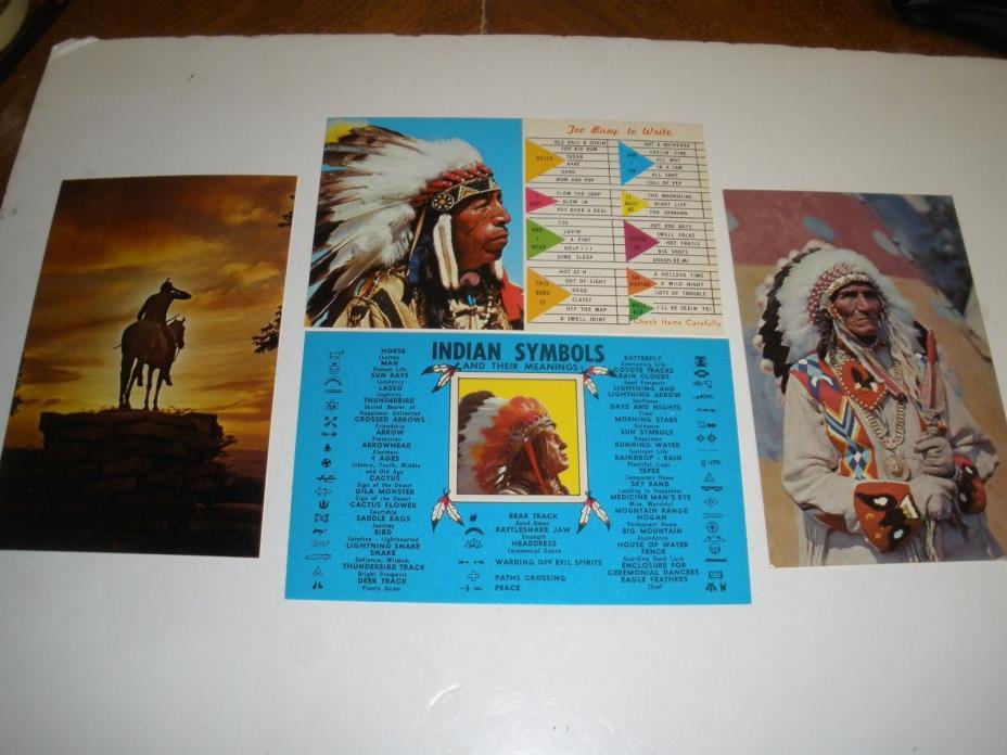 Lot of Indian Postcards vintage