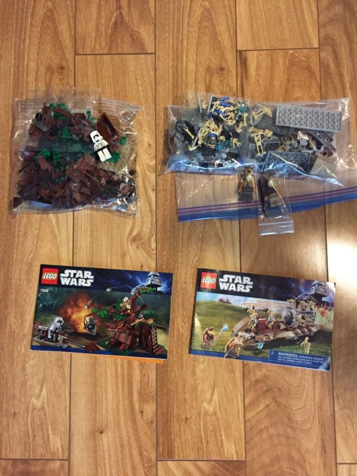 Lego star wars Lot 7956, 7929, 7959, 8093, 8028, 7143.  6 Sets!!! unopened bags!