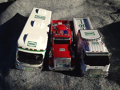 Lot of hess trucks
