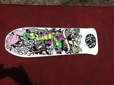 Jeff Grosso Santa Cruz Cease and Desist skateboard deck
