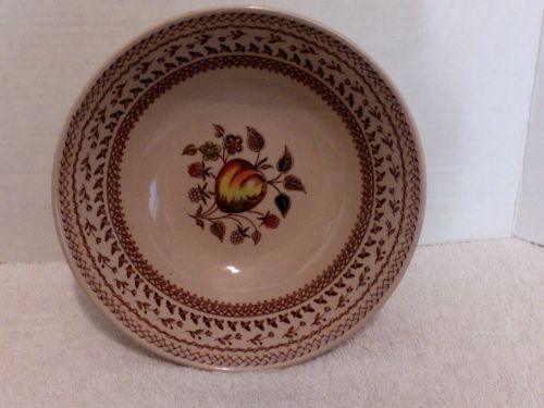 Johnson Bros, Staffordshire Old Granite Fruit Sampler, Serving Bowl