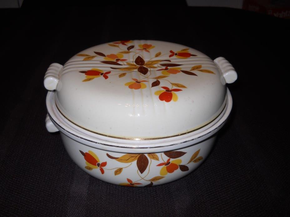 Vintage Hall's Superior Covered Casserole Dish