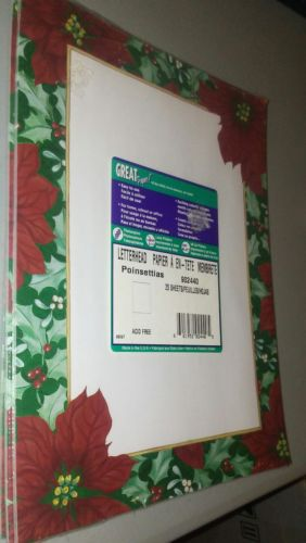 Great Papers! Floral Letterhead,25 sheets, 8.5
