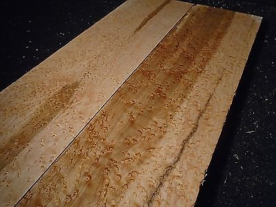2pc  BIRDSEYE HARD MAPLE* Heavy Eyes*  LUMBER  23