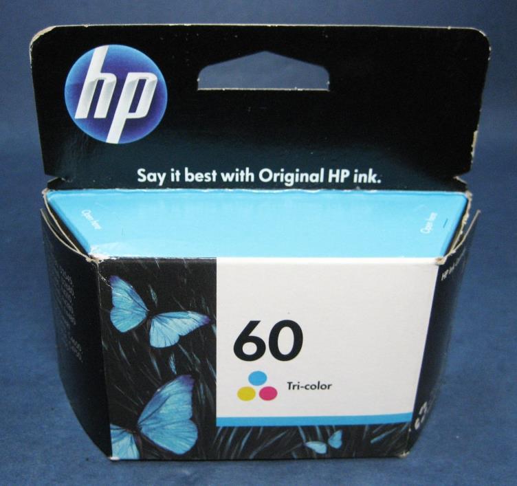 HP 60 Ink Tri-Color Genuine