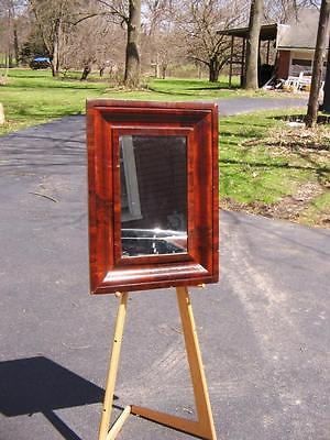 VERY NICE ANTIQUE OGEE FRAME WITH MIRROR-FINE MAHOGANY MOLDING