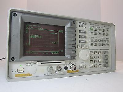 Hewlett Packard Agilent Keysight 8595E Spectrum Analyzer Opt. 041 0B0 140