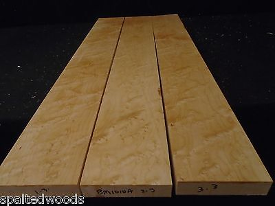 3pc BIRDSEYE MAPLE HEAVY EYES   29