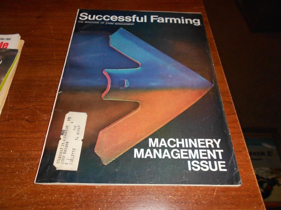 successful farming machinery management issue 1970 719