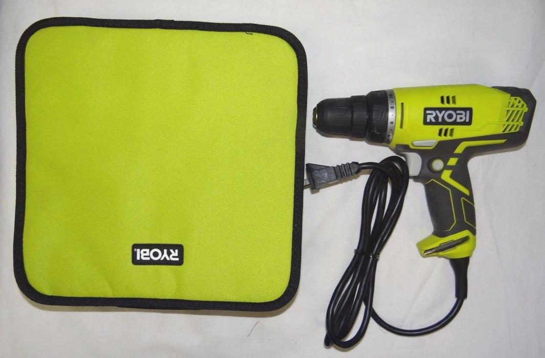 Ryobi  D48C  3/8 in Compact Clutchdriver  10mm Corded Drill