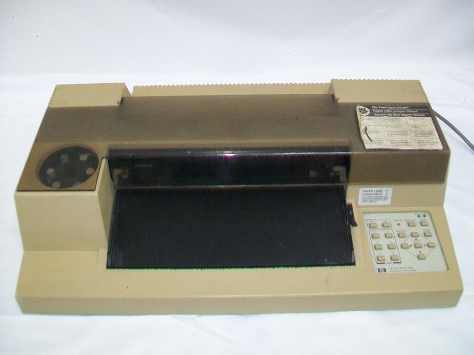 Hewlett Packard HP 7475A Desktop 6 Pen Plotter