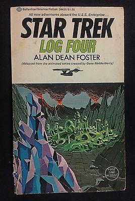 Star Trek Log Four 4  Alan Dean Foster Sci Fi PB Book