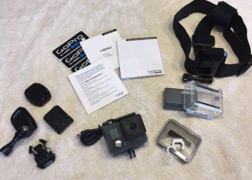 gopro - hero hd waterproof action camera Black