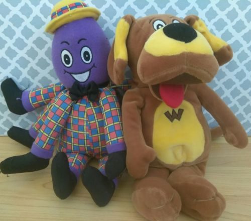 Plush Wags The Dog Henry The Octopus Wiggles Toys