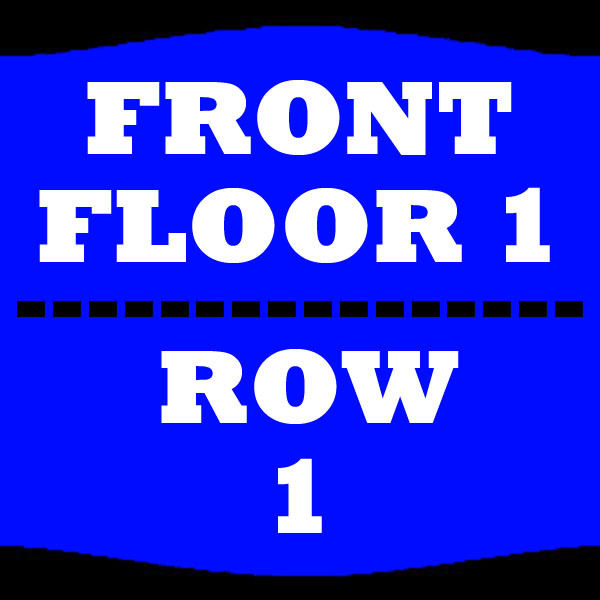 2 TIX HUEY LEWIS AND THE NEWS 5/19 FLOOR 1 ROW 1 KANSAS STAR EVENT CENTER ARENA
