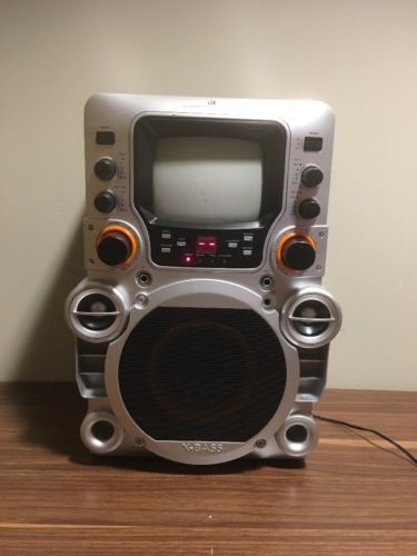 GPX CD/CD+G Karaoke System With 5