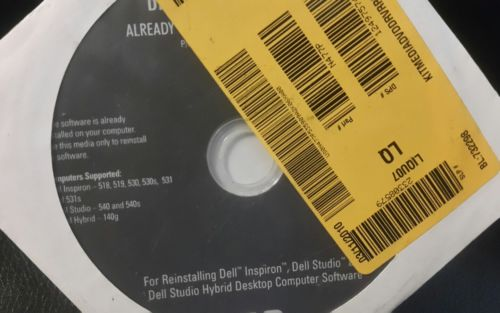 Dell Inspiron 518,519,530,531,Dell Studio 540, Dell Hybrid 140g