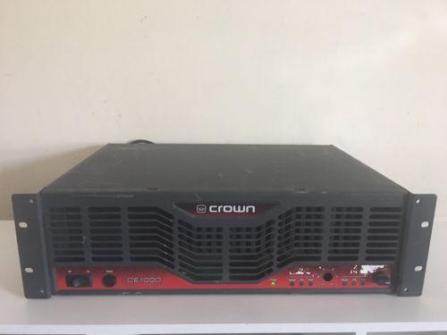 CROWN CE1000 Power Amplifier