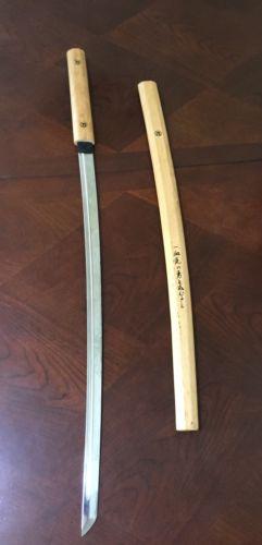 Authentic JAPANESE SAMURAI KATANA SWORD