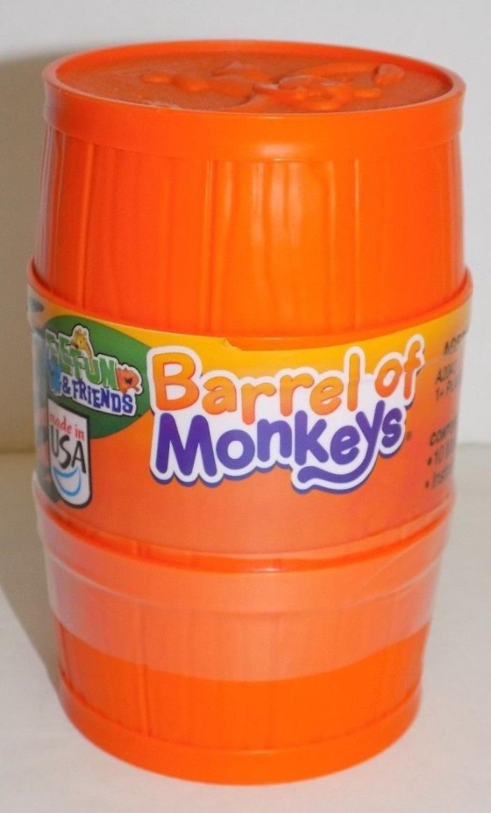 Hasbro Barrel of Monkeys Orange 2012 SEALED!