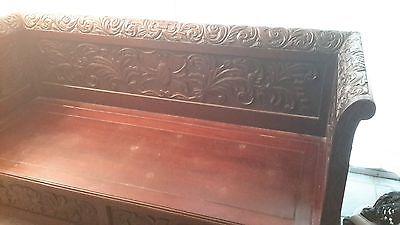 antique bench