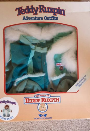 Teddy Ruxpin Clothes Winter Outfit