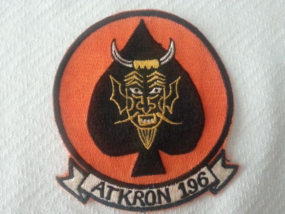 Vietnam War: U.S.N. A-6 Intruder, Attack Squadron 196 / VA-196 Patch