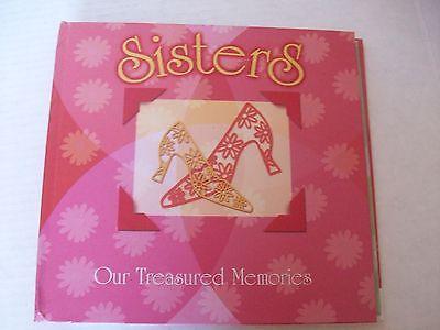 SISTERS, TREASURED MEMORIES MEMORY KEEPER BOOK, BUILD A  BOOK OF MEMORIES