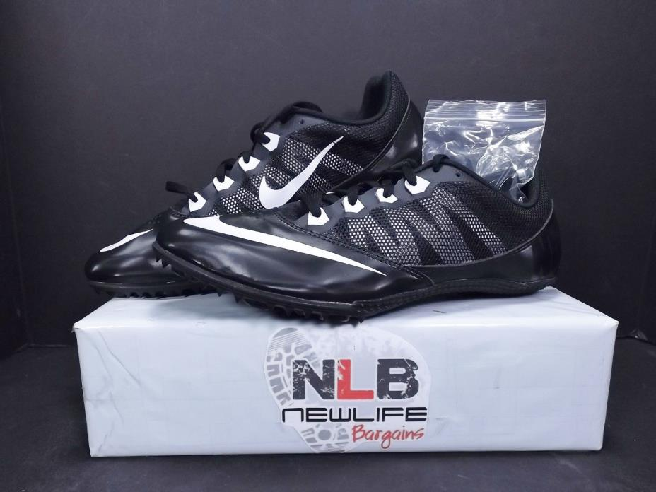 Nike Zoom Rival S7 Track & Field Men's Cleats 616313-001 Size 11 Black/White
