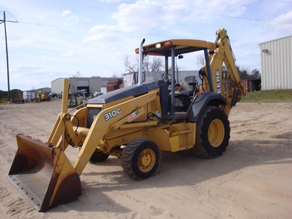 2005 JOHN DEERE 310G LOADER BACKHOE