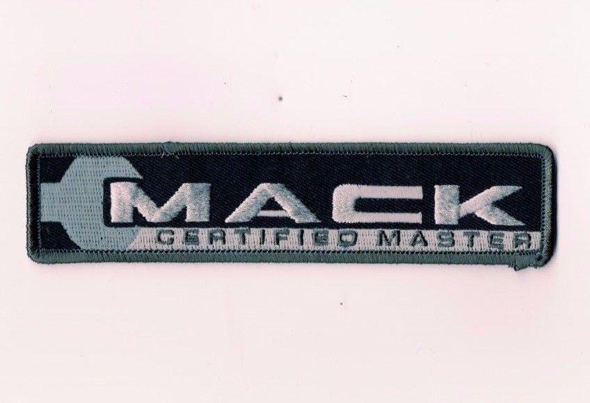 Mack Trucks Certified Master Patch Technician Mechanic New Semi Pinnacle Terra