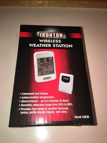 IRONTON Wireless Weather Station- FREE SHIPPING