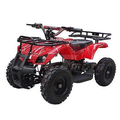 Go Bowen Kids 24V 350W 2 Speed Electric ATV 4 Wheeler SONORA Red