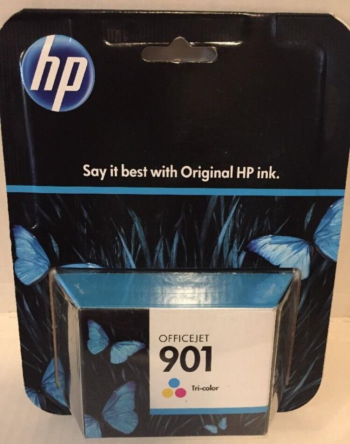 HP 901 (CC653AN#140) GENUINETRI-COLOR INK CARTRIDGE March 2015