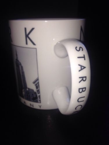 2003 Starbucks New York City Scenes 16 oz Collectible Coffee Tea Ceramic Mug Cup