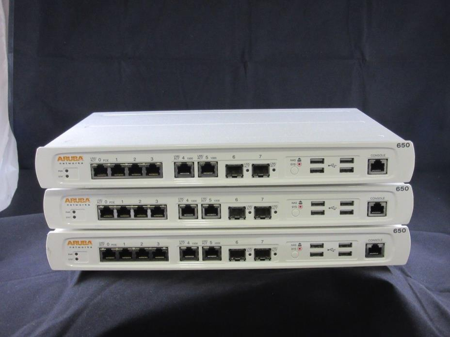 Aruba Networks Mobility Controller | 650-US (3492408)