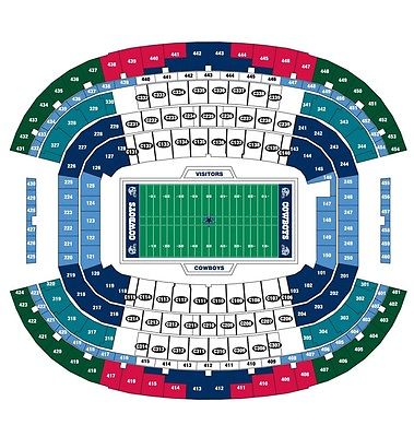 Dallas Cowboys PSL Section320 Row15 Seats1,2 and Only Seats on Row- SEE OFFER!!!